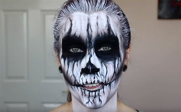 Vid O Halloween Les Tutos Make Up Les Plus Flippants