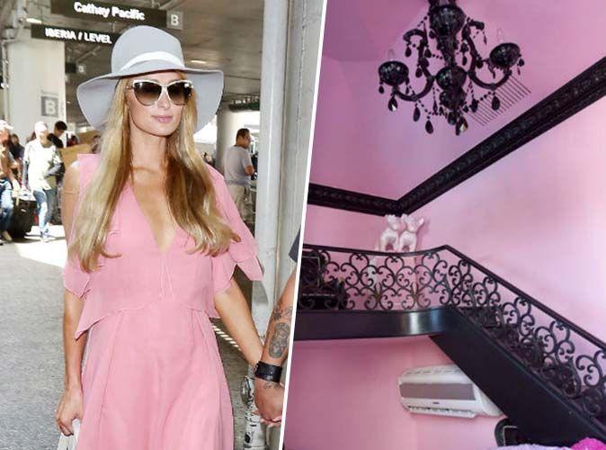 Photos paris hilton se transforme en bonbon rose - Maison de paris hilton ...