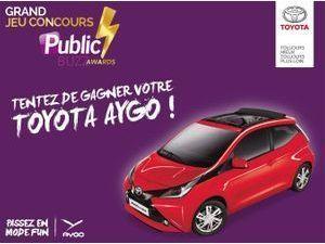 Jeu concours : gagnez une Toyota Aygo x-wave 69 VVT-i !