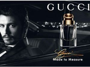 Beauté : James Franco : un businessman new-yorkais ultra-bling-bling pour le nouveau parfum Gucci !
