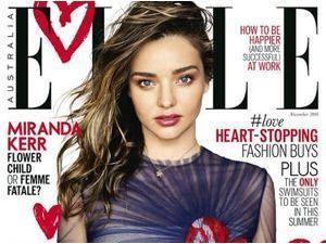 Mode : Miranda Kerr : une beauté renversante à la Une du magazine Vogue Australia !