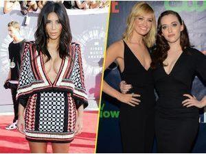 """Kim Kardashian : en guest dans la série """"2 Broke Girls"""" !"""