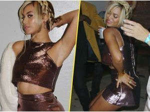 Photos : Beyoncé : single lady pour faire la fête, elle sort le look super sexy !