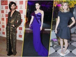 "Photos : Conchita Wurst, Dita Von Teese, Elizabeth Olsen… À Paris, elles disent ""stop"" au sida !"