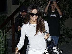 Photos : Eva Longoria : bye bye Italia, hello California !