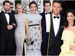 Photos : Golden Globes 2015 : du glamour et de l'amour... Avalanche de couples sur le red carpet !