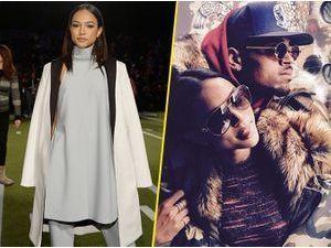 Photos : Karrueche Tran : chic et élegante au défilé Tommy Hilfiger avant de retrouver les bras de Chris Brown !