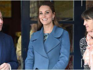 Photos : Kate Middleton : toujours aussi radieuse à 7 mois de grossesse, on l'a dit maman avant l'heure !