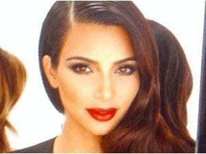 Photos : Kim Kardashian : glamour avec Khloe et Kourtney, elle lance la gamme Kardashian Beauty Hair !