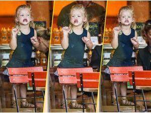 Photos : Maxwell Simpson : mais à qui est donc cette adorable petite fille ?