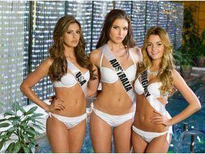 Photos : Miss Univers : découvrez les concurrentes en maillots de bain !