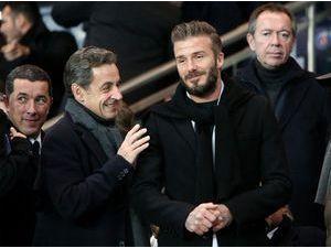 Photos : Nicolas Sarkozy, David Beckham, Jamel Debbouze : le Parc des Princes fait le plein de people !