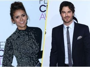 Photos : People's Choice Awards 2014 : Nina Dobrev et Ian Somerhalder : leur rupture, maintenant ils en rient !