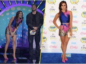 Photos : Teen Choice Awards 2014 : Nina Dobrev : une vraie poupée colorée et stylée !